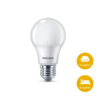 Set de 3 bombillos Philips LED luz amarilla