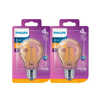 Bombillos Philips Vintage A60