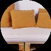 Aprende a hacer un sofá cama con pallets