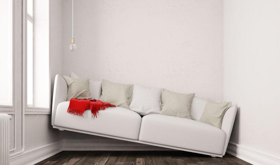 cómo elegir un sofá - tamaño del espacio