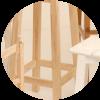 Cómo hacer una silla de madera