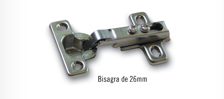bisagras de parche - 26mm