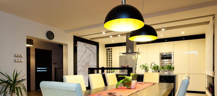tips para iluminar comedor con lámparas