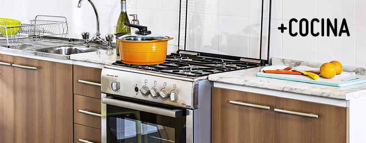 Cocinas y muebles auxiliares homecenter for Proyectos de cocina easy