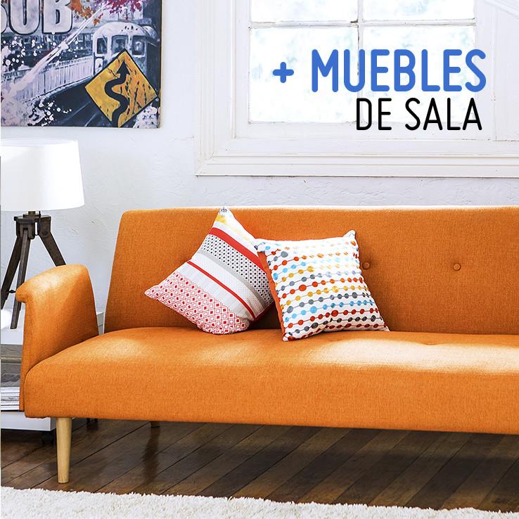 Muebles de sala: mesa, sofás, sillas y más