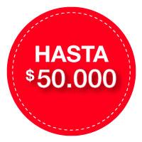 0 a $50.000