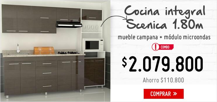 Muebles para cocina homecenter bogota ideas for Cocinas homecenter