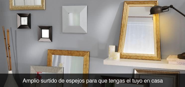 Espejos free page espejo de metal negro cm clifford with for Decoracion hogar bucaramanga
