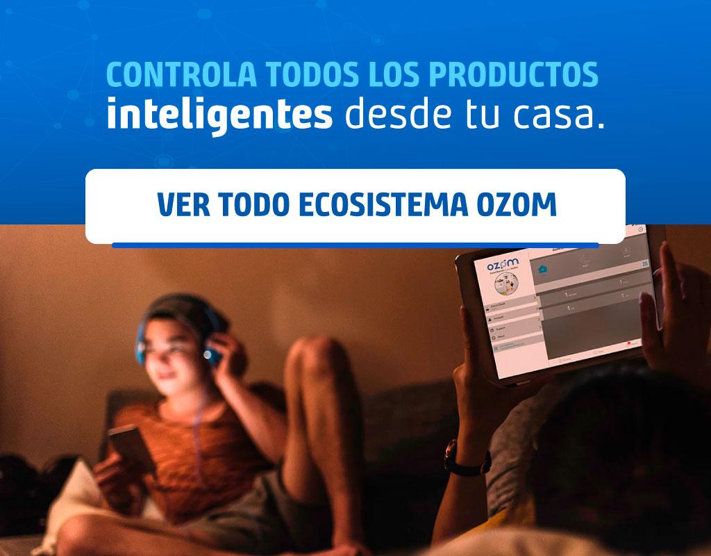Enciende tu estufa sin moverte del sillón ES SIMPLE, ES OZOM