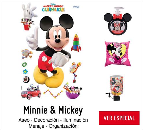 Minnie y Mikey