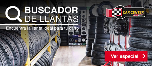 Buscador de llantas - Car center