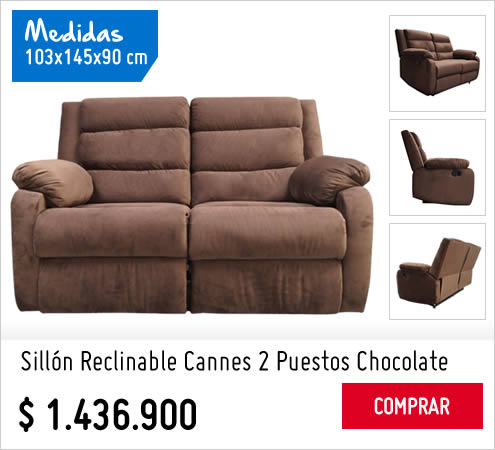 Muebles - sillon reclinable