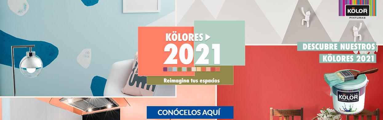 Inspirate tendencias Kölor 2021 - HOMECENTER