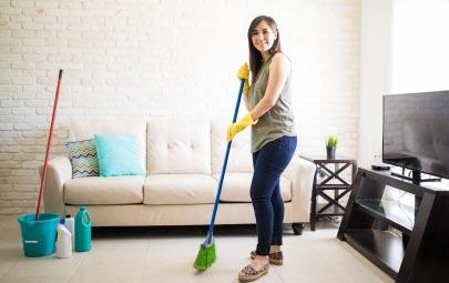 Descubre cómo barrer la casa correctamente