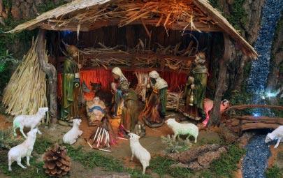 cómo hacer casas para pesebres navideños