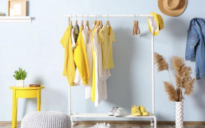 10 tácticas para organizar la ropa con éxito