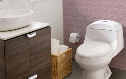 6 ideas para remodelar baños pequeños