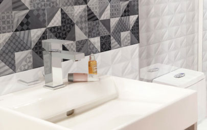 5 tips para tener un baño moderno con toque retro