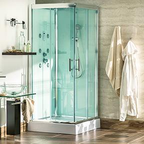 Cabinas y columnas de ducha