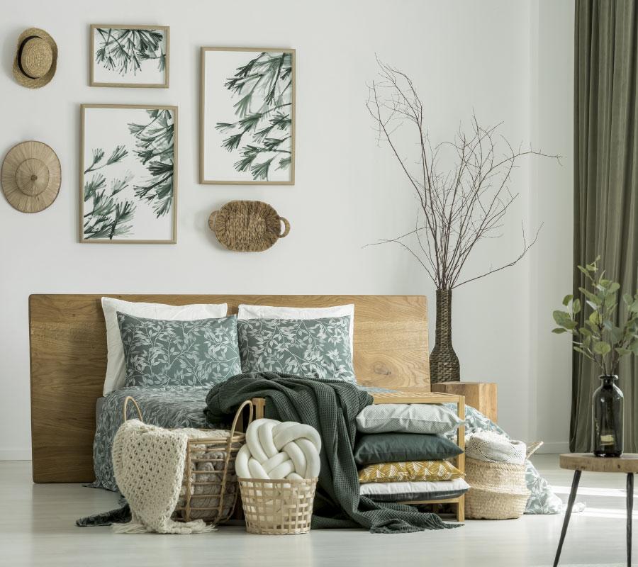 Decorar cabeceros de cama : Busca inspiración con un cuadro
