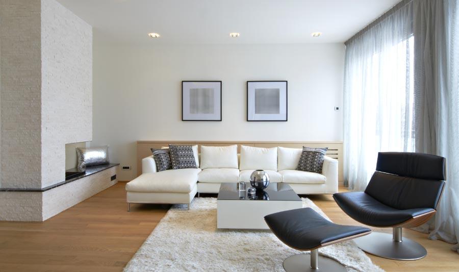 Cómo decorar una sala moderna - sala moderna elegante