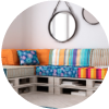 5 tipos de muebles que puedes hacer con estibas