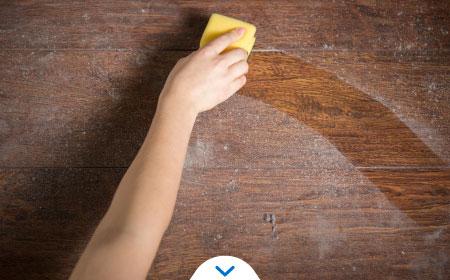como limpiar el polvo - limpiar polvo con esponja