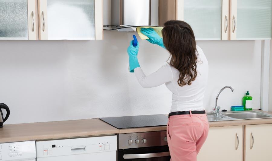 Cómo limpiar extractor de cocina con zumo de limón