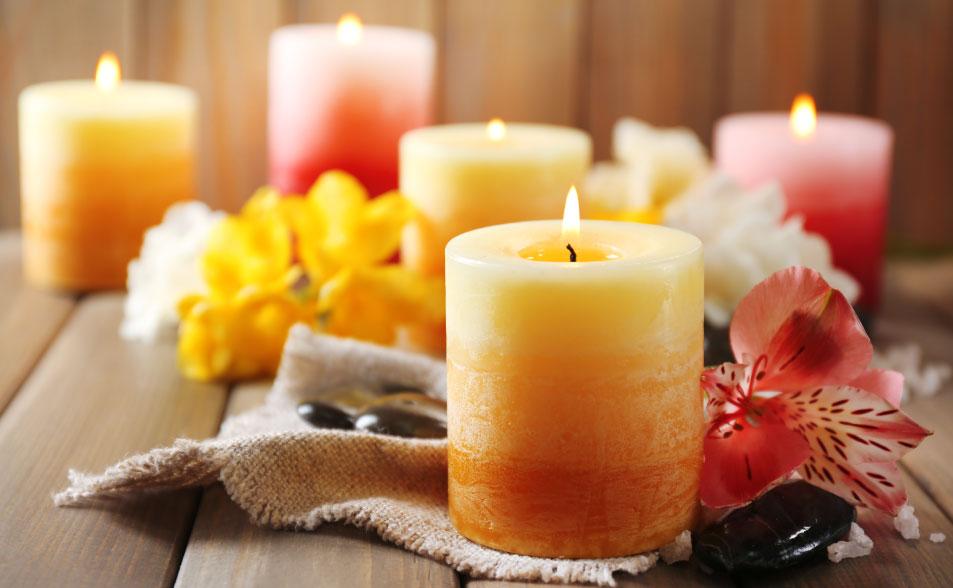 Cómo limpiar la casa de malas energías con velas