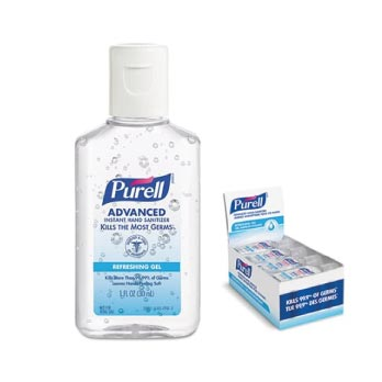 Gel antibacterial y toallas húmedas