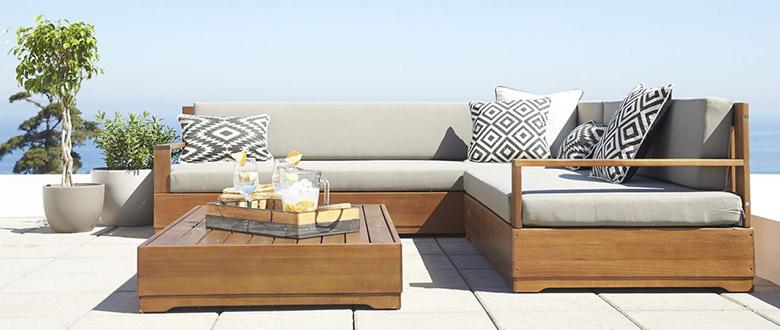 C mo elegir tus muebles de terraza for Columpio de terraza homecenter