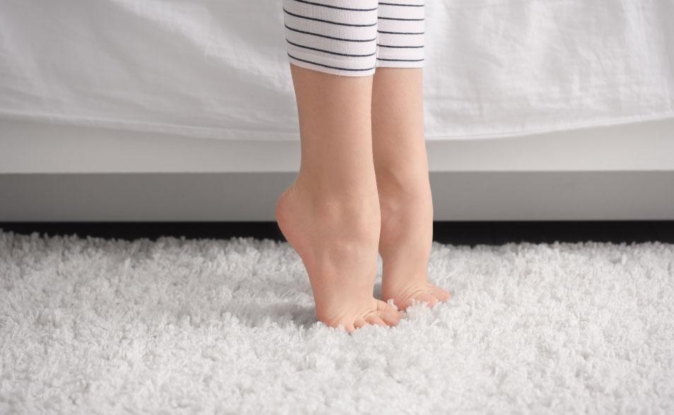 tipos de alfombras - alfombras de fibras naturales