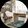 Tipos de escritorio para tu habitación