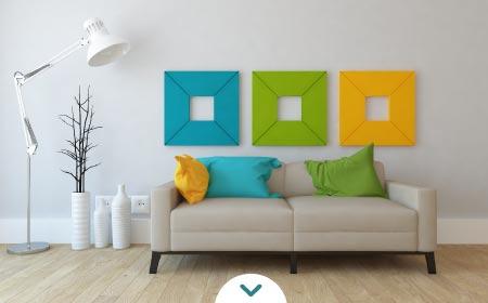 decoracion de cuadros para salas