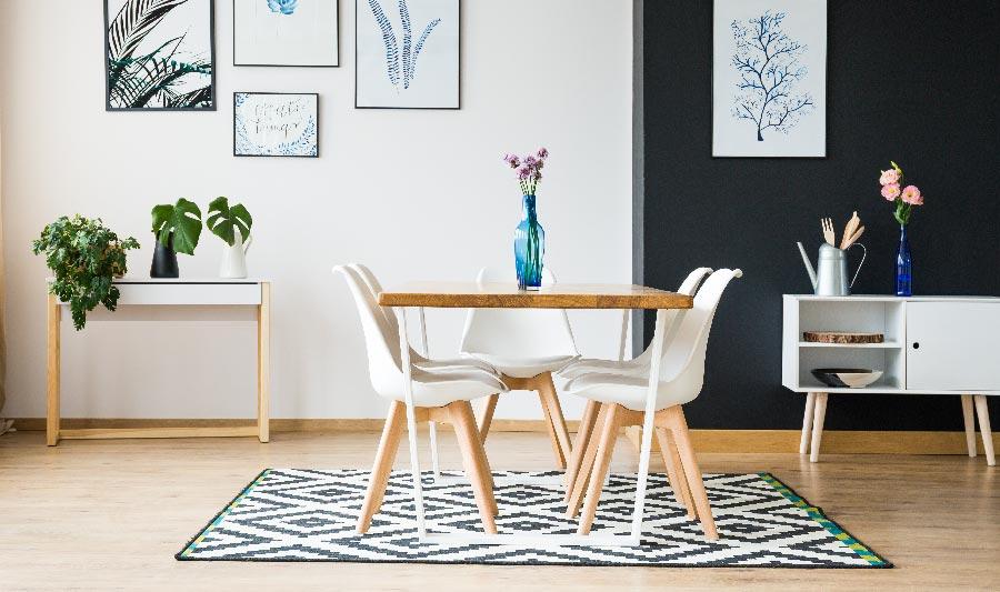 Ideas para casas pequeñas, ideas para comedor pequeño