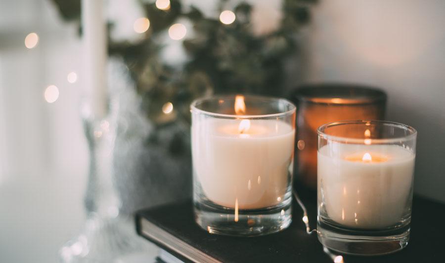 ideas para navidad - velas decorativas