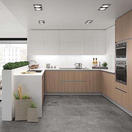 Tri ngulo de trabajo for Distribucion de muebles de cocina