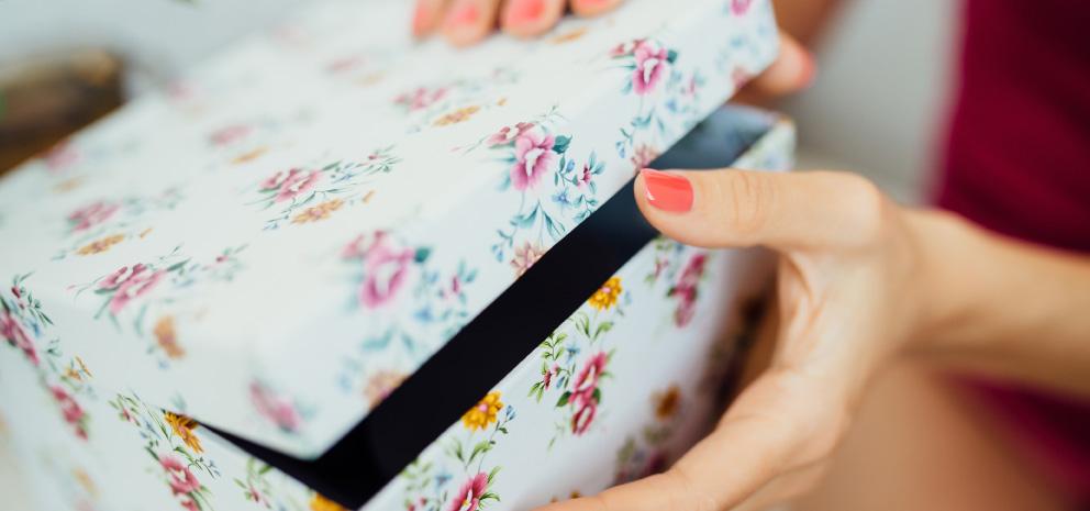 ideas de cajas para ordenar - Cajas decorativas