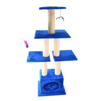 Rascadores y gimnasio para gatos