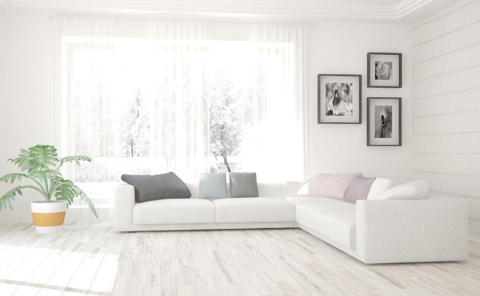 significado de los colores para tu casa - color blanco