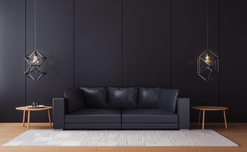 significado de los colores para tu casa - color negro
