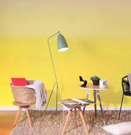tips para decorar paredes colores degradados