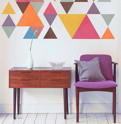 tips para decorar paredes estampados