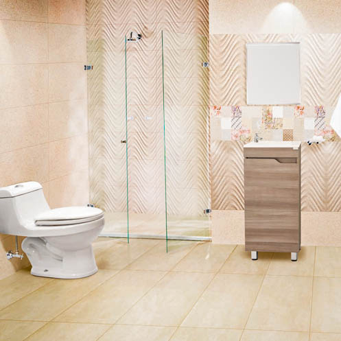 Decoraci n de ba os for Duchas de bano homecenter