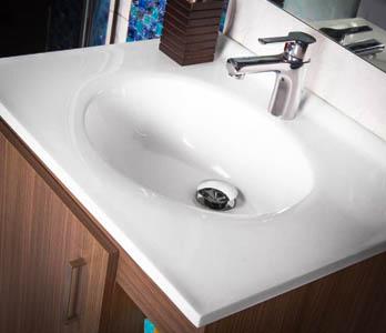 Los lavamanos definen el estilo de tu ba o existen los Repisas de bano homecenter