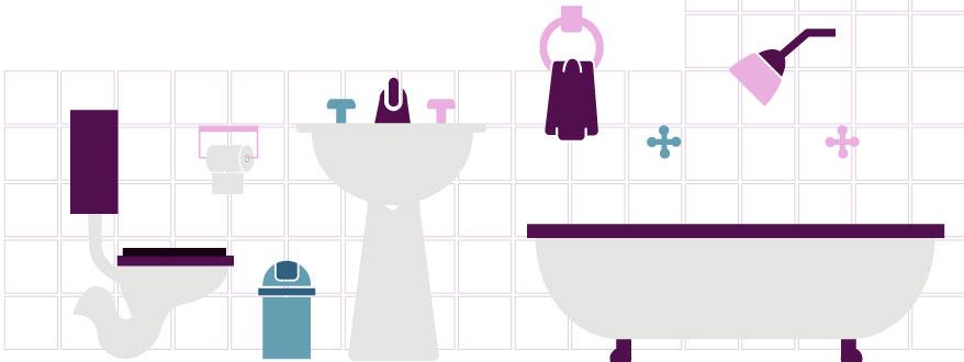 Baños Modernos Homecenter:Realiza un plano