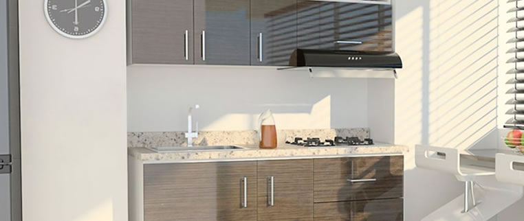 3 pasos para tu nueva cocina for Cocinas homecenter