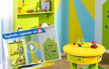 Crea un espacio lleno de color para tus hijos