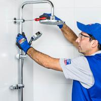 Instalación ducha con grifería